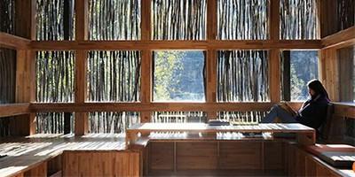 Liyuan Bookhouse library, Beijing