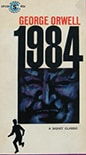 Cover of Nineteen Eighty-Four, by George Orwell