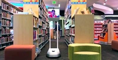 Palo Alto City Library's BEAM telepresence robot