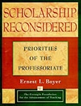 Cover of Scholarship Reconsidered, by Ernest Boyer
