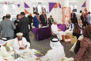 The Networking Library Lounge at the Sharjah International Book Fair/American Library Association Library Conference.