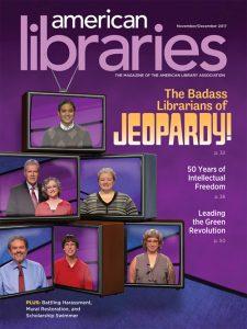 American Libraries November/December 2017 cover