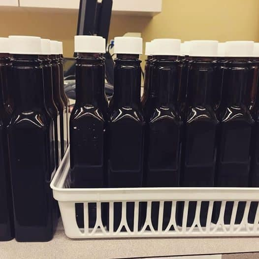 Avon Lake Public Library has held onto most of its A1 Sauce bottle collection. Many library employees that we interviewed stressed how clean the bottles were and what a time commitment this project must have been. Photo: Courtesy of Avon Lake Public Library
