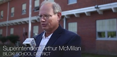 Biloxi School District Superintendent Arthur McMillan