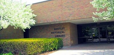 Bentley Historical Library, University of Michigan. Photo by Karen L. Jania