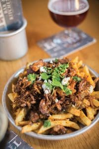 Carnitas papas fritas at Euclid Hall. Photo: Scott Dressell-Martin