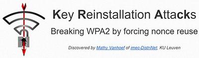 Key Reinstallation Attack on WPA2