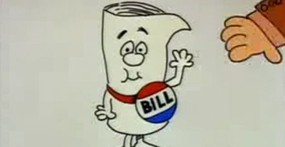 Screnshot from Schoolhouse Rock- How a Bill Becomes a Law