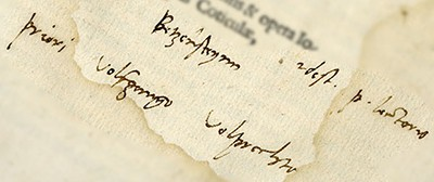 Martin Luther's handwritten inscription on the title page of a 1520 pamphlet was discovered by German scholar Ulrich Bubenheimer