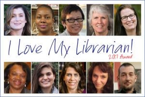 2017 I Love My Librarian Award Winners