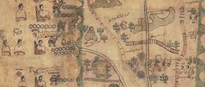 A portion of the Codex Quetzalecatzin