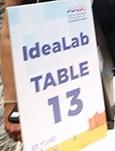 IdeaLab sign