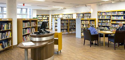 Council library, Perth and Kinross, Scotland