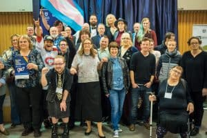 2016 Moving Trans History Forward conference. Photo: Courtesy of University of Victoria Office of the Chair in Transgender Studies