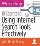 Using internet search tools effectively