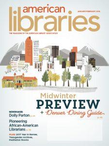 American Libraries January/February 2018 cover