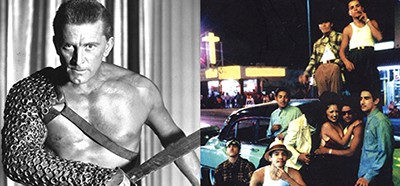 Scenes from Spartacus and Boulevard Nights