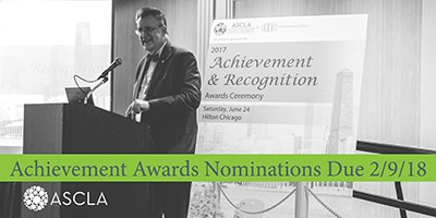 ASCLA achievement and recognition awards