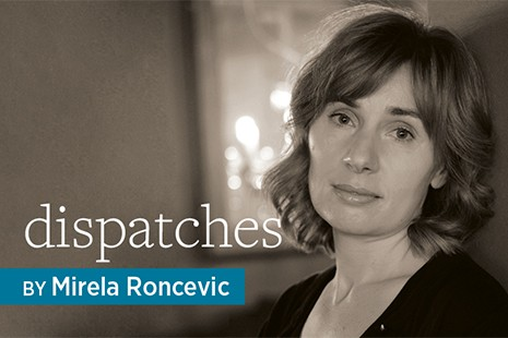 Dispatches, by Mirela Roncevic