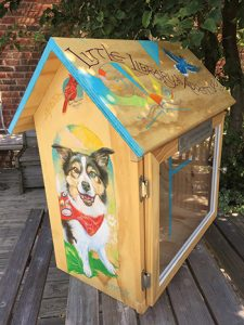 """Artist Martha Thierry's honorable mention-winning entry at the 2017 Michigan State Fair.<span class=""""credit"""">Photo: Detroit Little Libraries</span>"""