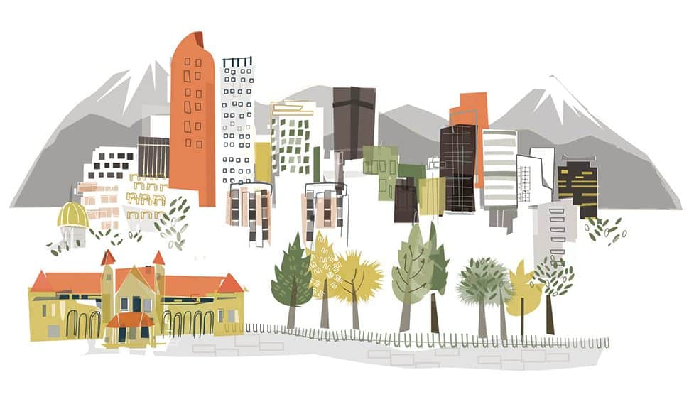 2018 Midwinter Meeting & Exhibits in Denver. Illustration: Kimberly Sly/Albie Designs