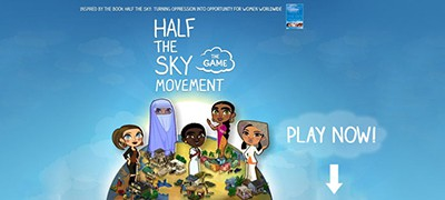 The Half the Sky Movement game
