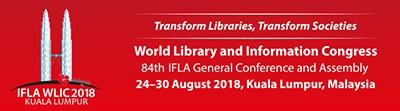 2018 World Library and Information Congress, Kuala Lumpur, Malaysia