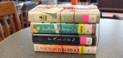 Books selected for a student's personal reading