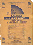 Cover of the Official California Negro Directory and Classified Buyers Guide
