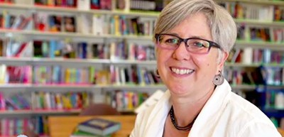 Oakland (Calif.) Unified School District Librarian Amy Cheney