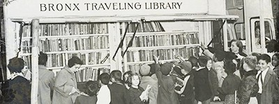 Bronx bookmobile, 1920