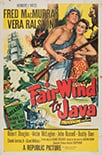Poster for Fair Wind to Java (1953)