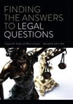 Cover of Finding the Answers to Legal Questions