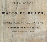Title page of Shadows from the Walls of Death