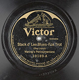 Stack O'Lee Blues, by Waring's Pennsylvanians (1923)