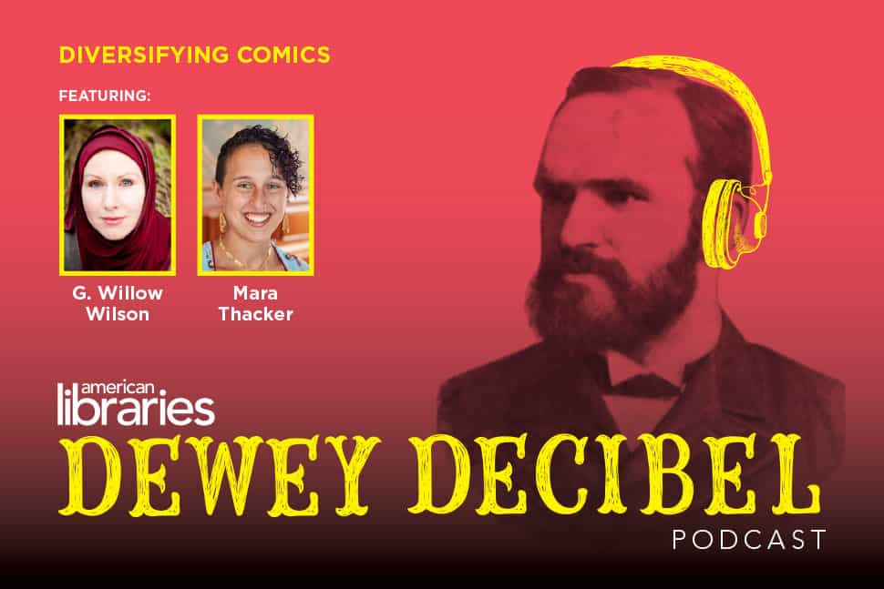 Dewey Decibel Episode 22: Diversifying Comics