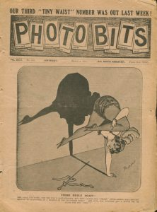 Cover of Photo Bits, v. 22 no. 662 03-03-1911, part of the Kinsey Library's collection.