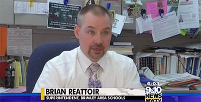 Brian Reattoir, Brimley Area Schools superintendent