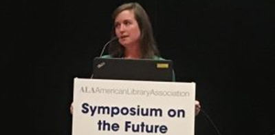 Liz Fitzgerald, administrator of the Free Library of Philadelphia Culinary Literacy Center