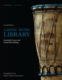 Cover of A Basic Music Library: Essential Scores and Sound Recordings, Fourth Edition, Volume 2: World Music