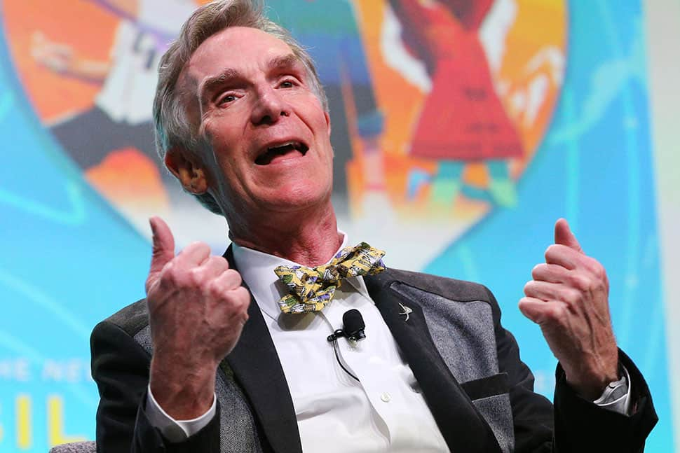 Bill Nye speaks at the Closing Session of the 2018 ALA Midwinter Meeting & Exhibits in Denver. Photo: Cognotes