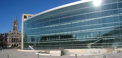 Salt Lake City Public Library, designed by Moshe Safdie
