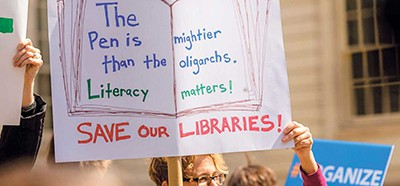 Save library funding
