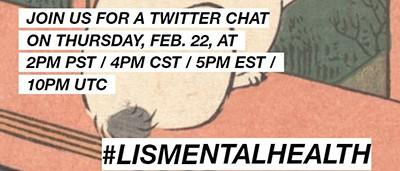#LISmentalhealth Twitter chat
