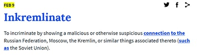 "Definition of ""inkremlinate"" from the Urban Dictionary"