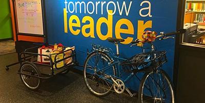 Walla Walla (Wash.) Public Library's new Blue Book Bike