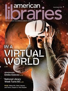 American Libraries March/April 2018 cover