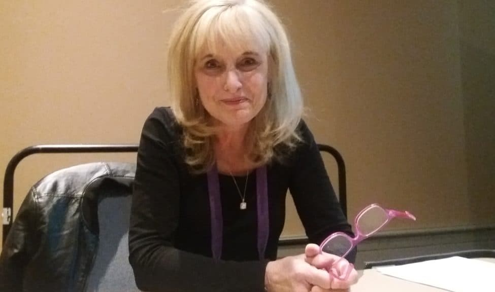 Cindy Thornley, director of the Horry County (S.C.) Memorial Library, talked about library road trips at the Public Library Association (PLA) Conference in Philadelphia on March 22.