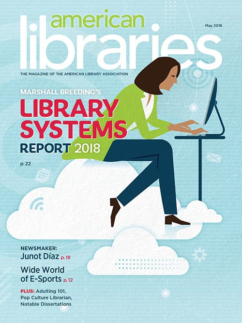 American Libraries May 2018 cover