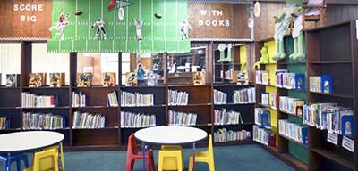 Children's room in the Chilton/Clanton (Ala.) Public Library
